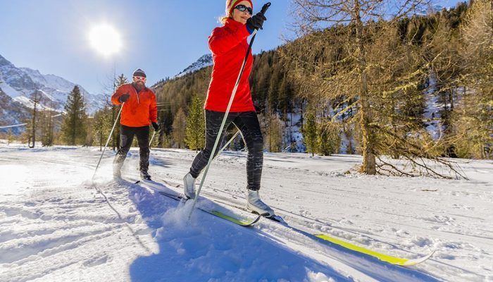 Exploring Kranjska Gora with cross country skiing