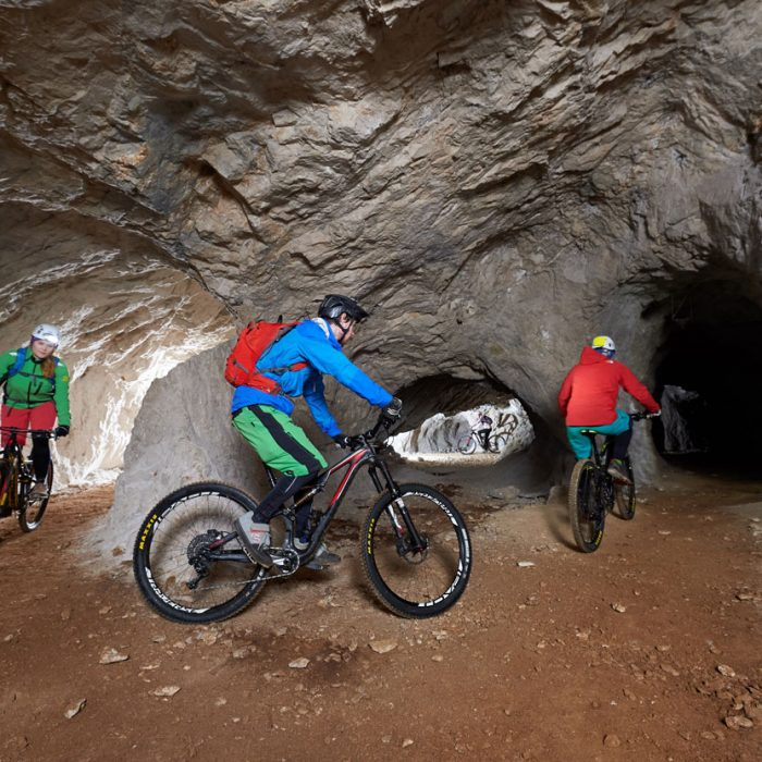Cave cycling experience