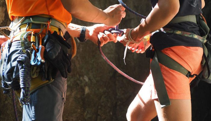 Preparing for safe climbing