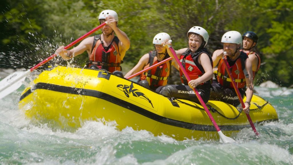 Rafting can also be a family experience
