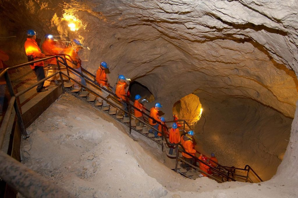 The start of our sport activities in caves