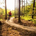 There are also some routes for mountain biking in Ljubljana
