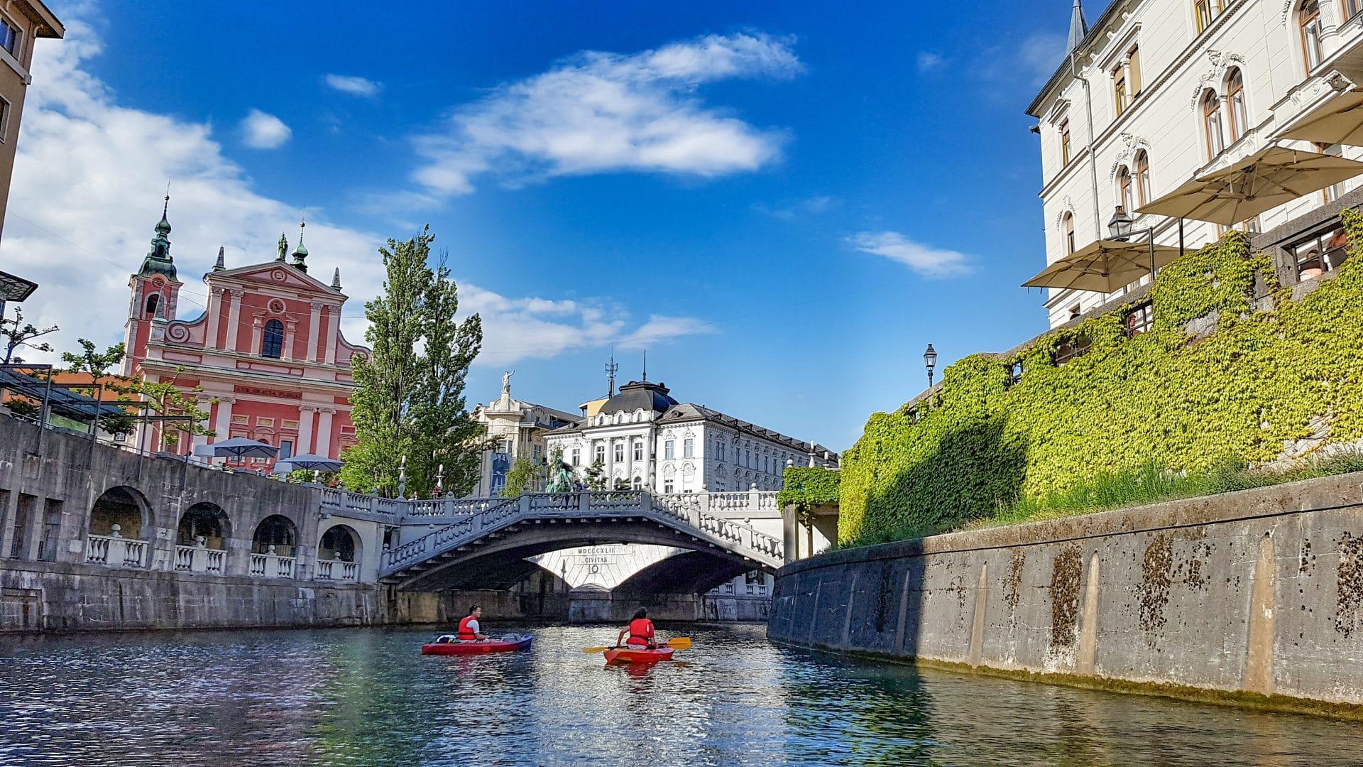 Kayak Ljubljanica