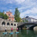 SUP tour in Ljubljana