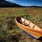 Wooden boat in Ceknica