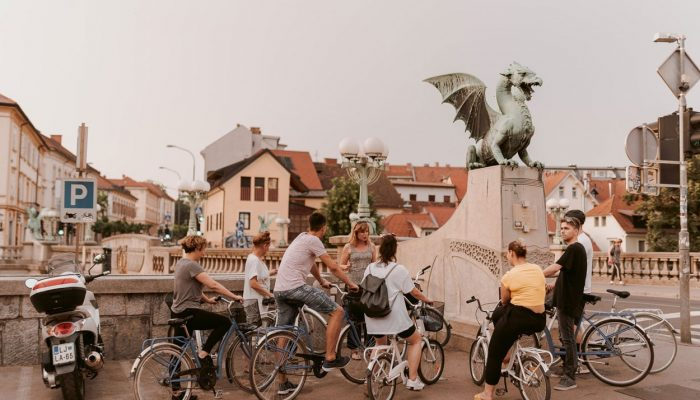 Biking tour of Ljubljana