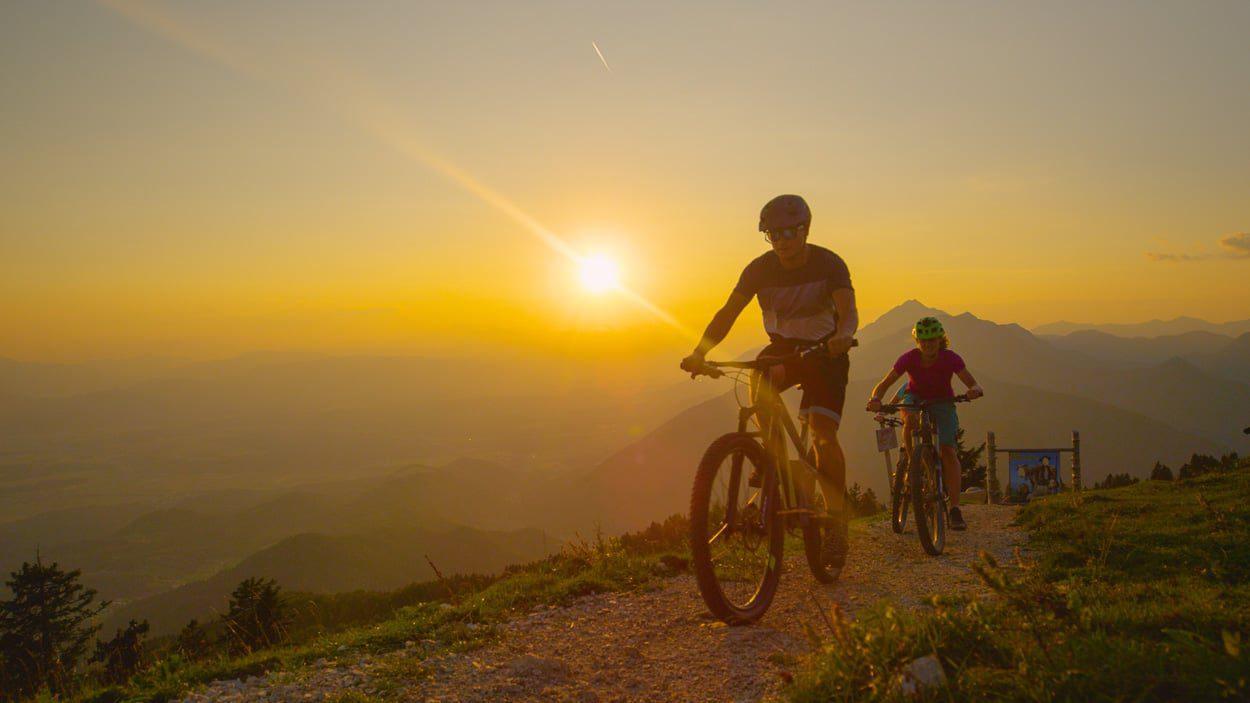 Velika Planina mountain biking