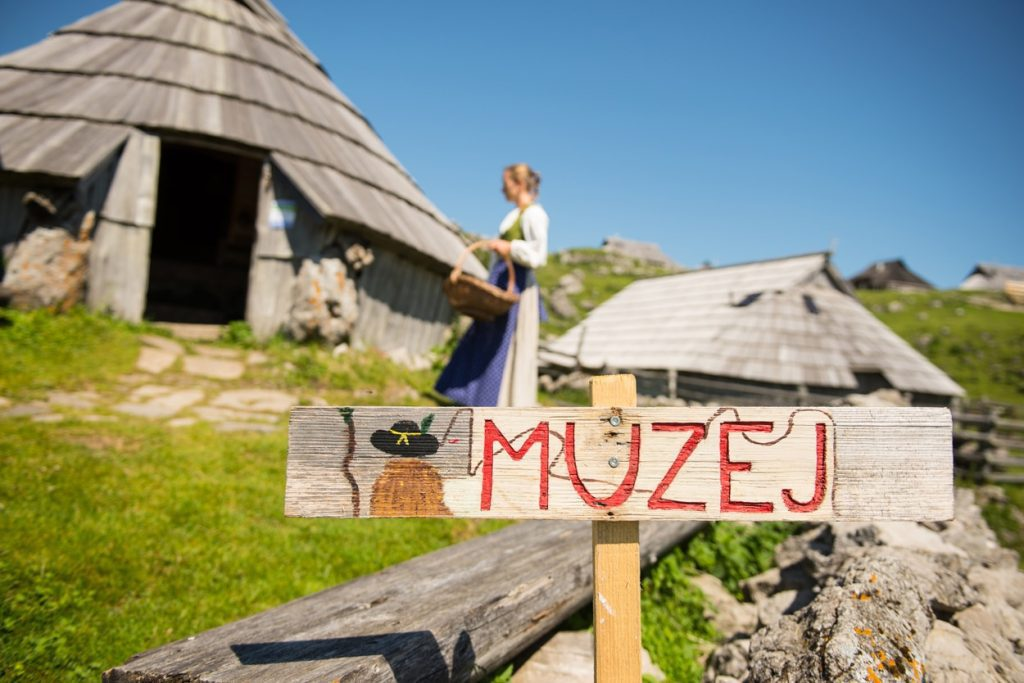 Preskar museum hut on Velika Planina