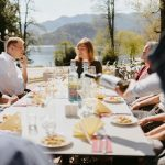 Visiting Bled restaurants with a guide