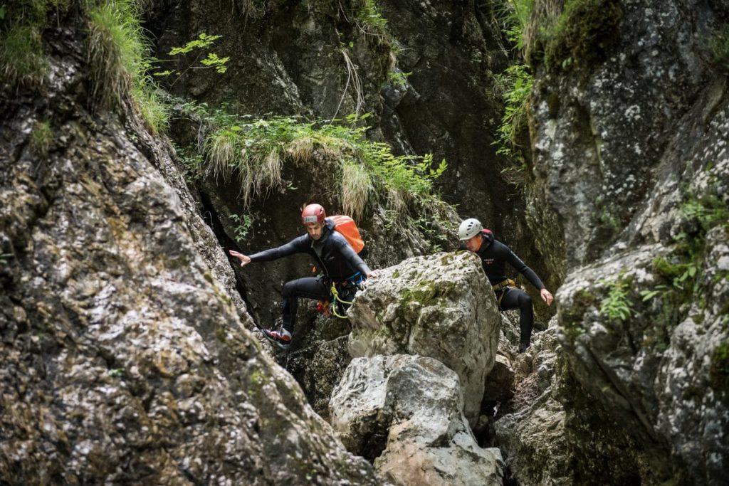 canyoning fratarica scramble