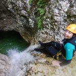 canyoning susec slovenia