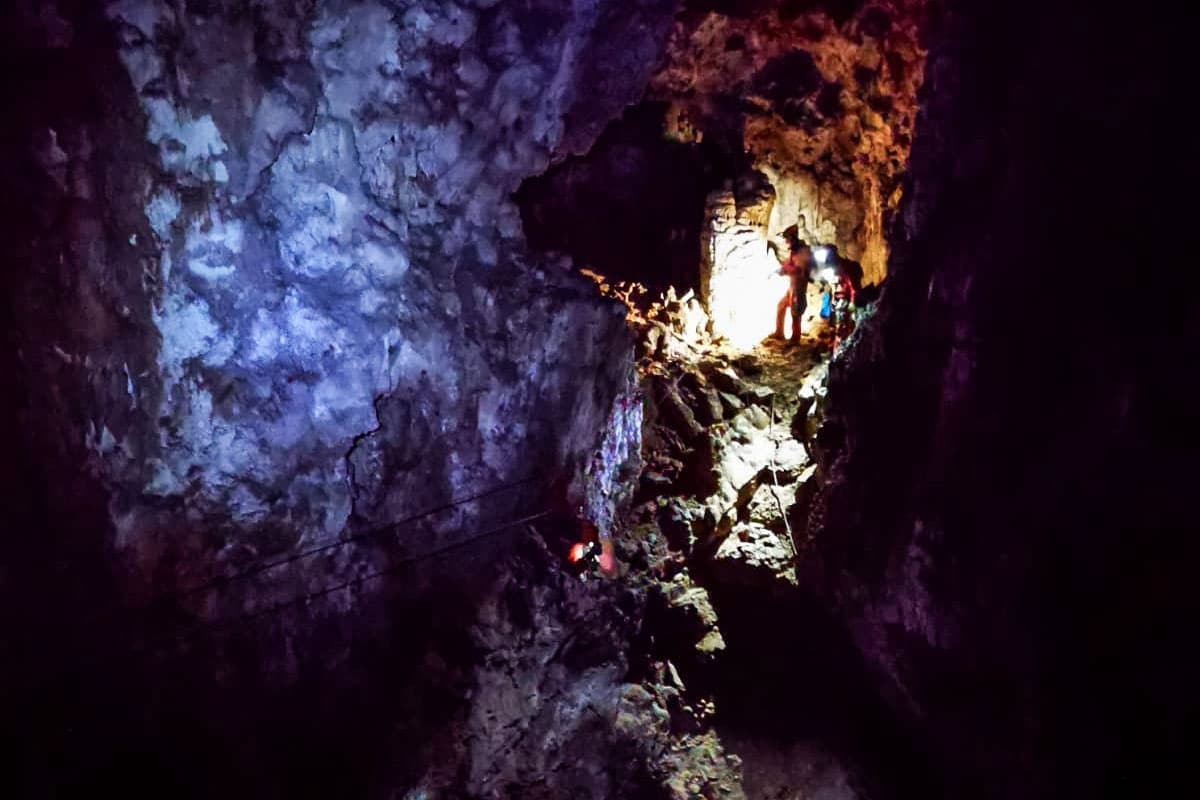 Caving Bled