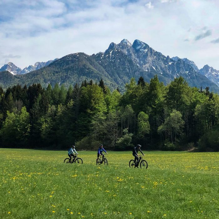 Cycling-in-kranjska-gora