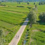 Biking roads without traffic