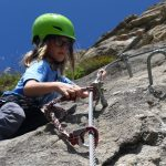 Younger members of families also like to climb