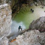 fratarica canyon slovenia