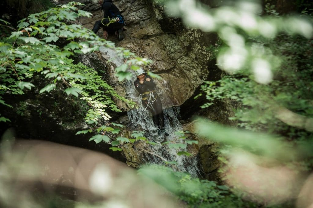 fun slides in canyoning fratarica