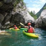 Discovering hidden places on Soča river