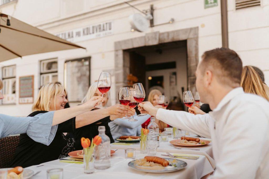 Restaurant tour in Ljubljana