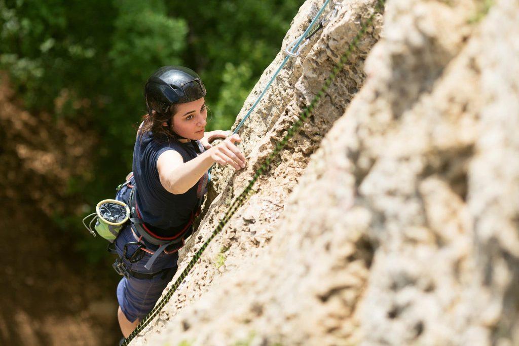 rock climbing slovenia
