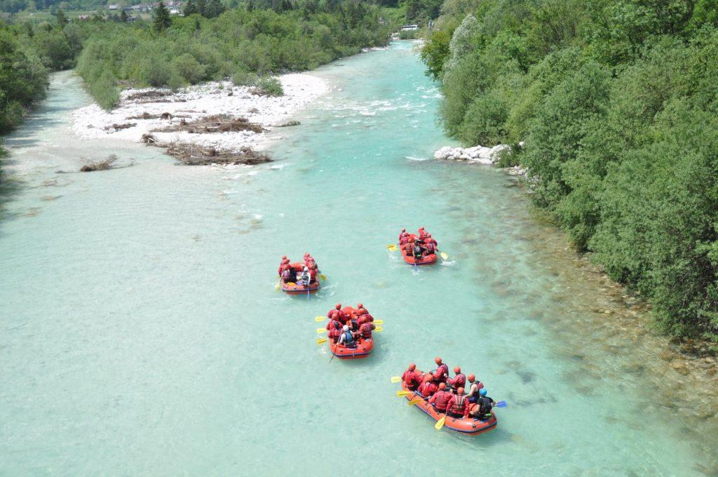 soča rafting experience