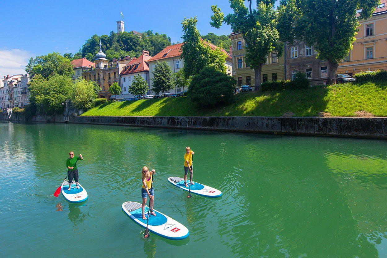 Stand-up-paddling-ljubljana