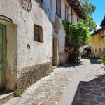 Traditional, old streets of Goriška Brda