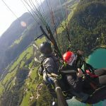 Tandem paragliding experience in Bled