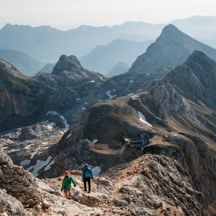 Hike on the top of Julian Alps