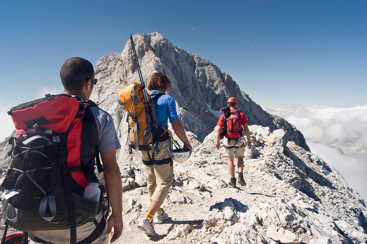 Hike on Triglav, which is the highest mountain in Slovenia