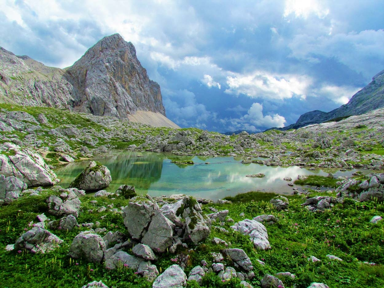 The view on one of 7 Triglav lakes
