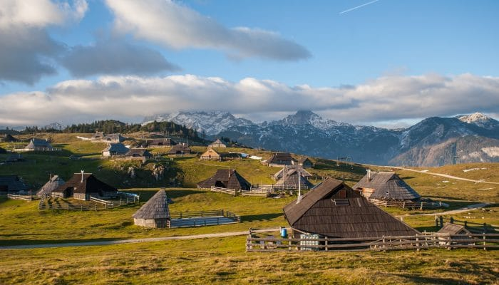 velika planina shepherds village