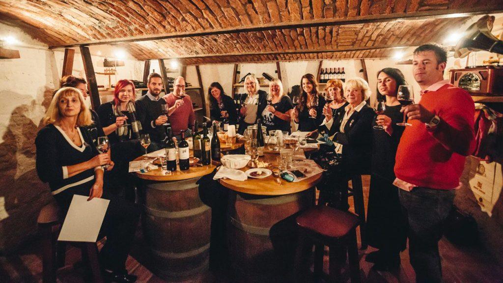 Wine tasting Bled Slovenia