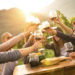 Wine tasting in Slovenian wine region, Goriška brda