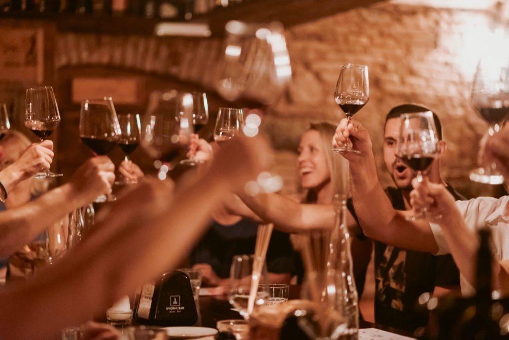 wine tasting lj