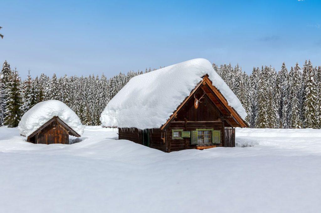 Slovenian winter wonderland